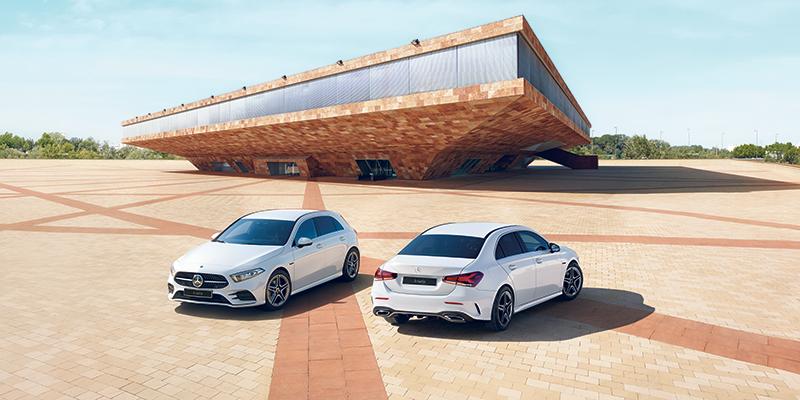 5-ovinen vai tyylikäs Sedan – valinta on sinun. A-sarja on kaikkea, mikä sopii elämäntyyliisi.