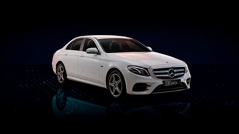Mercedes-Benz E-sarjan sedan ladattava hybridi Wetteri uudet autot