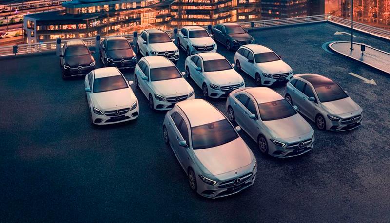 Mercedes-Benz EQ-mallisto Wetteri uudet autot