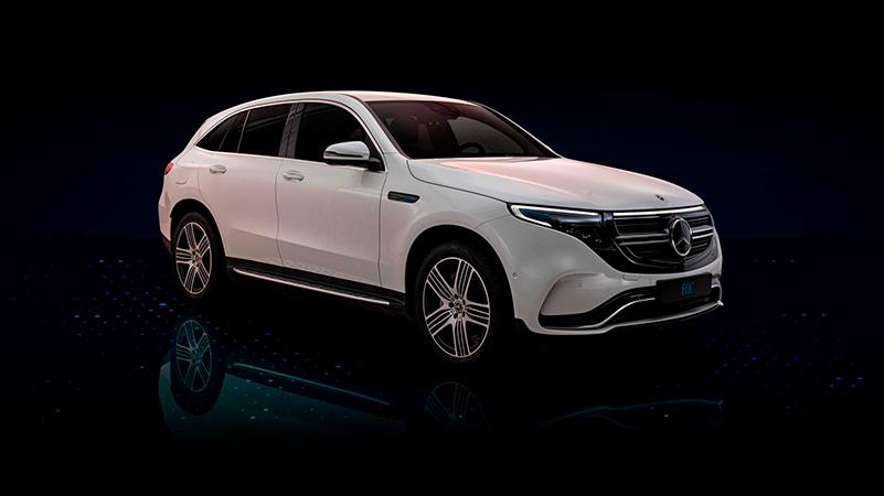 Mercedes-Benz EQC täyssähköauto Wetteri uudet autot