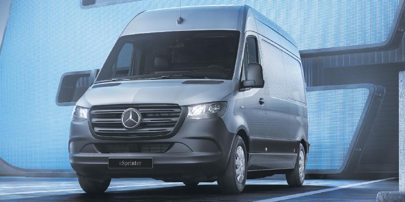Mercedes-Benz eSprinter Uusi täyssähköinen eSprinter.