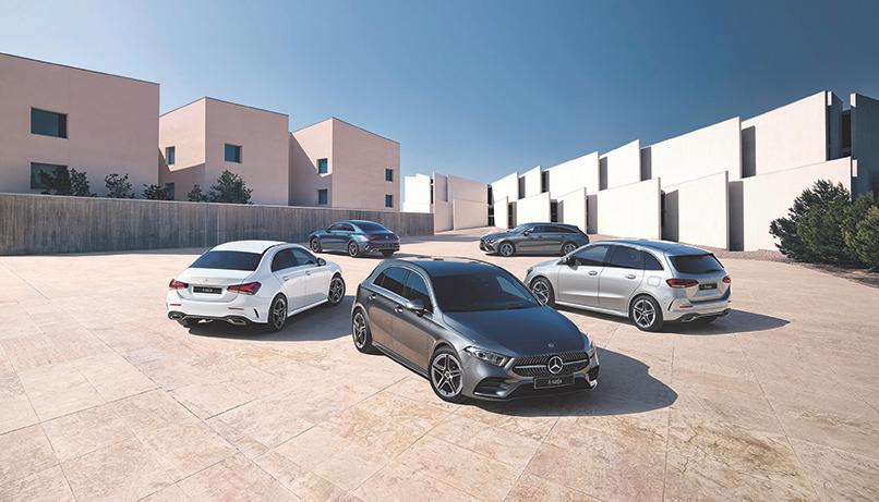 Mercedes-Benzin uudistunut etuvetomallisto. Edullisesti nopeaan toimitukseen - ilman käsirahaa.