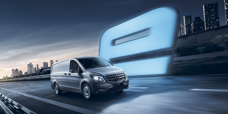 Mercedes-Benz eVito Uusi täyssähköinen eVito. Virtaa jokaiseen päivään.