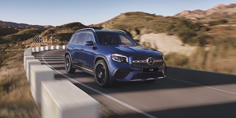 Uusi GLB on monipuolisin kompaktimaasturi, jonka Mercedes-Benz on koskaan valmistanut.