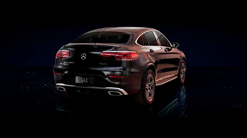 Mercedes-Benz GLC Coupe ladattava hybridi Wetteri uudet autot