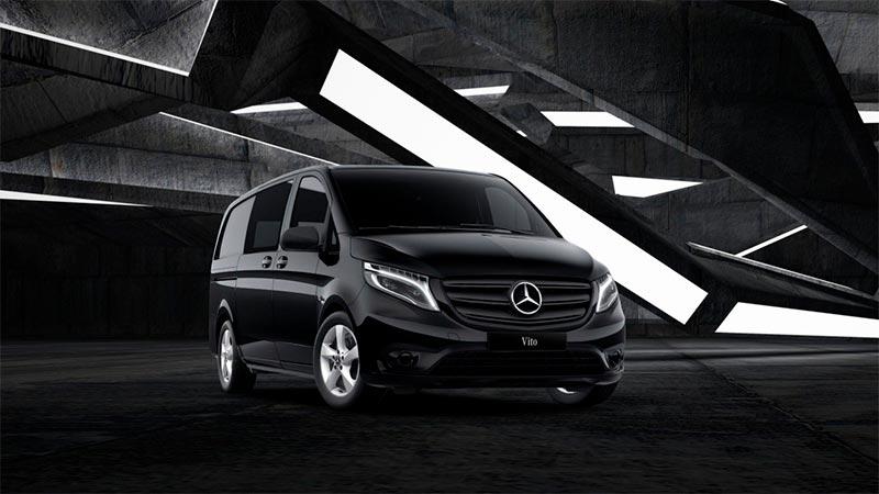 Mercedes-Benz Vito 4Matic Black Series pakettiauto