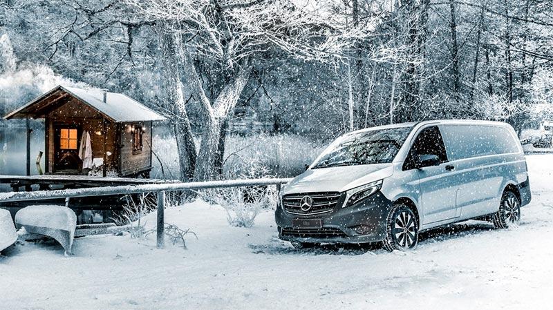 Mercedes-Benz Vito 4Matic Edition pakettiauto