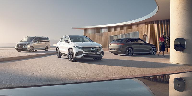 Mercedes on nyt sähköisempi kuin koskaan.