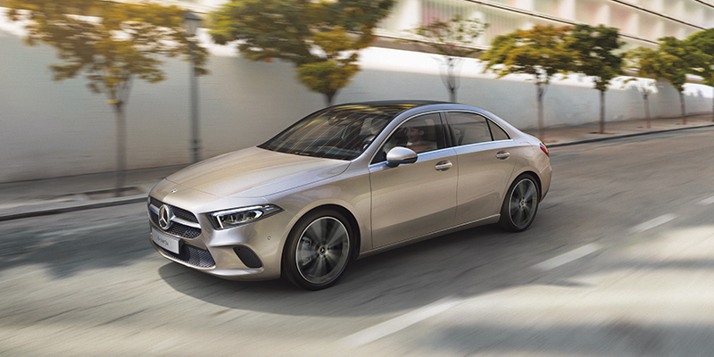 Mercedes-Benz uutuus A-sarjan sedam