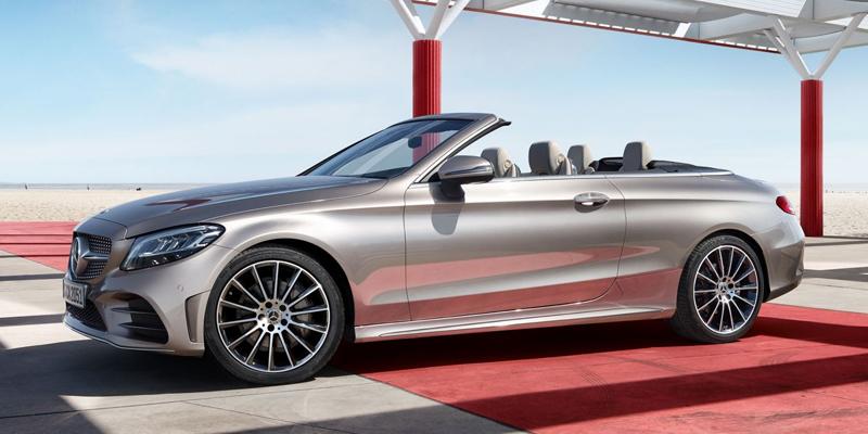 Uusi Mercedes-Benz C-sarjan Cabriolet