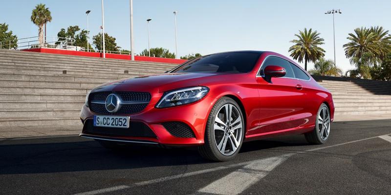 Uusi Mercedes-Benz C-sarjan Coupé