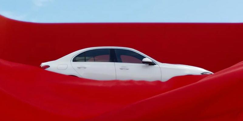 Uusi Mercedes-Benz C-sarjan sedan