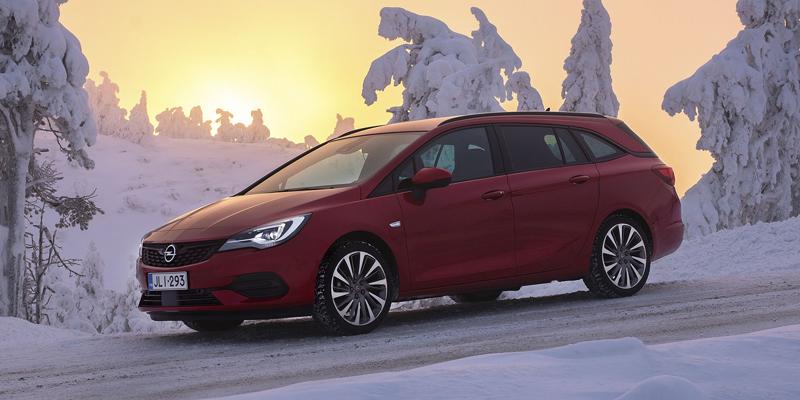 Wetteriltä erään Opel Astra -malleja ohittamattomat edut