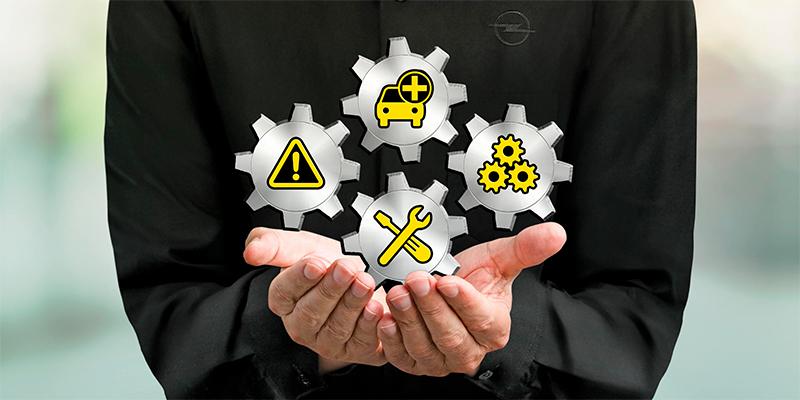 Opel FlexCare sisältö. Ole valmis.