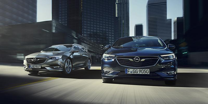Opel Insignia Grand Sport - Eleganttia muotoilua, erinomaista liitettävyyttä ja älykkäitä kuljettajaa avustavia järjestelmiä - Insignia suorastaan puhkuu intoa päästä tien päälle.