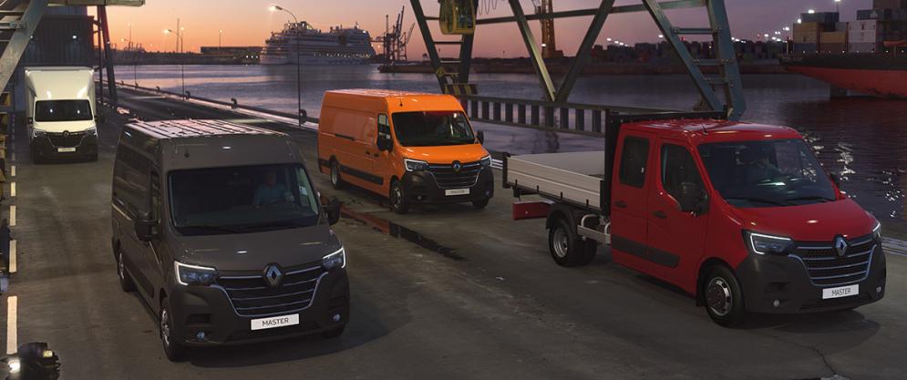 Uusi Renault Master