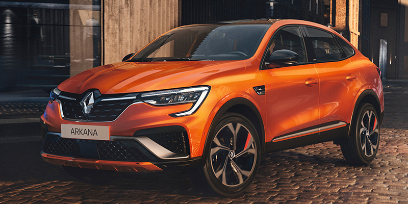 Tulossa: Renault ARKANA E-TECH hybrid