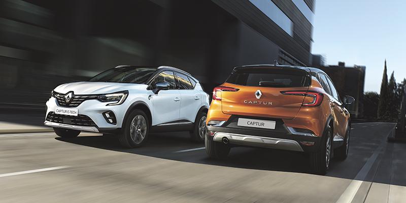 Renault CAPTUR - valitse oma suosikkisi