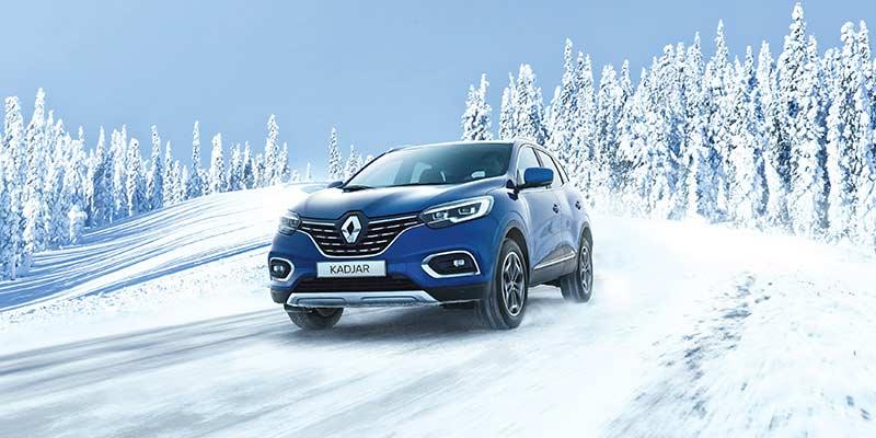 Tyylikäs Renault KADJAR nyt huippueduin Wetteriltä!