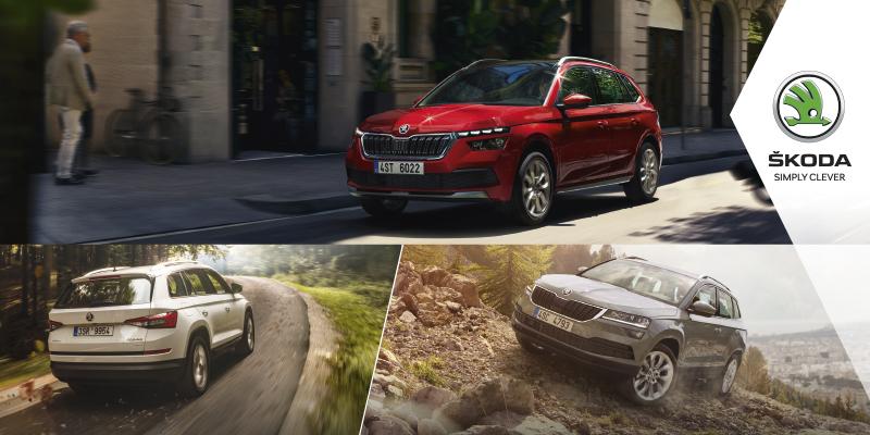 Ohittamattomat edut Škoda SUV-mallistoon Tervetuloa koeajamaan Wetterille!
