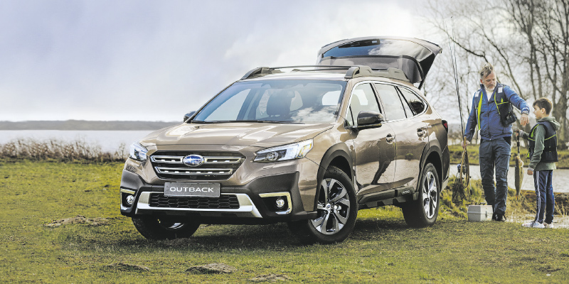 Uusi Subaru OUTBACK ensiesittelyssä toukokuussa 2021