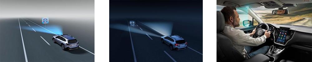 Subaru Outback - Lisää turvallisuutta