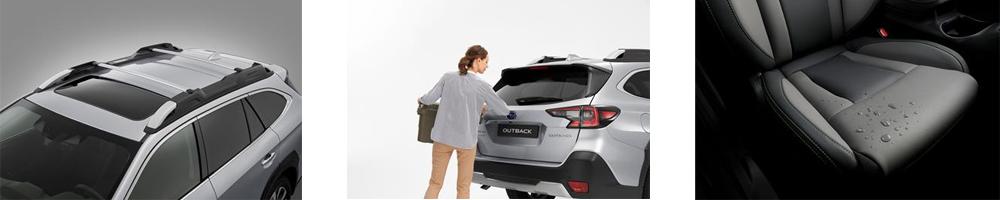 Uuden Subaru Outbackin lisätoimintoja