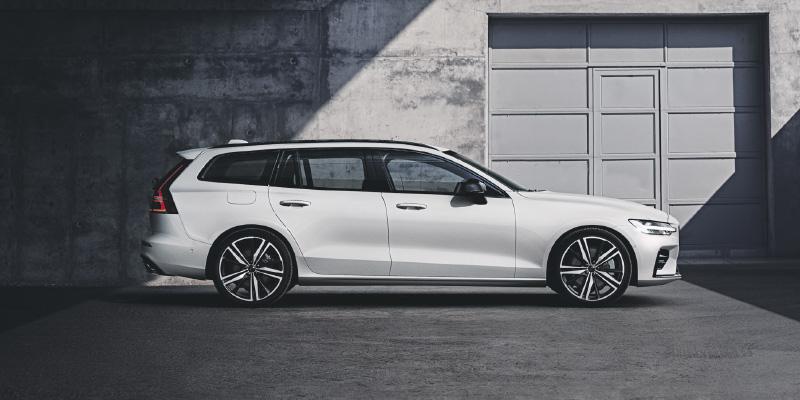 Volvo V60 Sportswagon tarjoaa sinulle lyömättömän varustelun