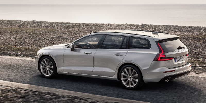 Volvo V60 B3 MHEV Business aut.  Volvo Paketilla esim. 476 €/kk* tai 42 488 € Wetteriltä