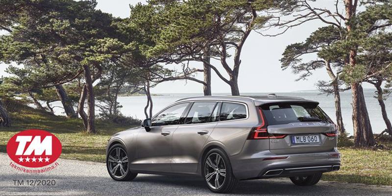 Volvo V60 on voittaja Tekniikan Maailman lataushybridien vertailussa.