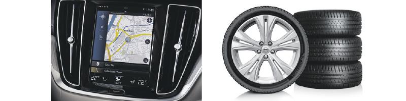 Navigation Pro -paketti + Volvo Talvirengaspaketti V90 (myös Cross Country) ja S90-malleihin.