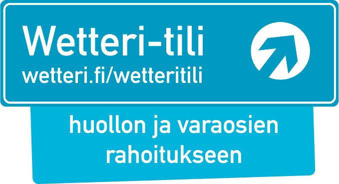 Wetteri-tili huollon ja varaosien rahoitukseen Huolla nyt, maksa myöhemmin tai esim. 18 €/kk!